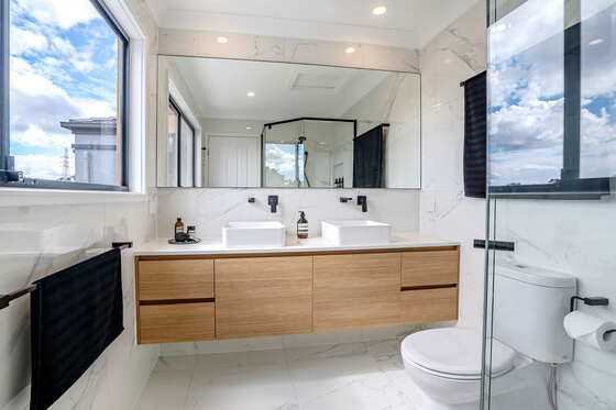 bathroom renovation lighting