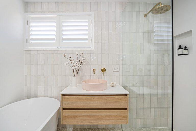 Burleigh bathroom renovation