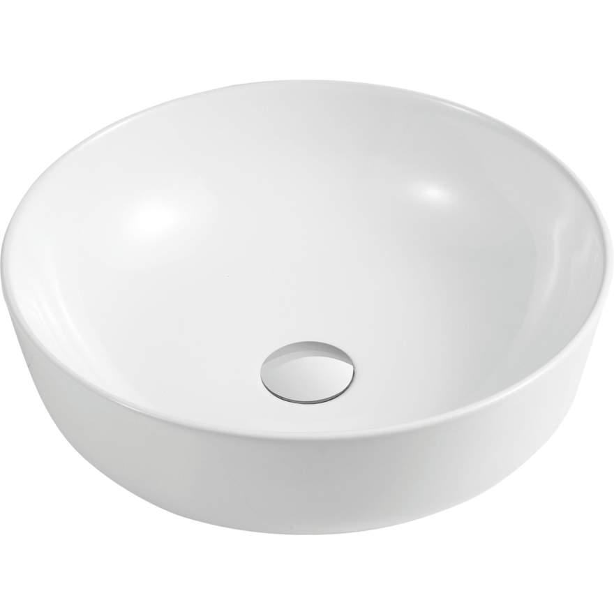 oliveri counter top circular basin for bathroom