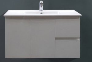 ledin wall hung bathroom vanity